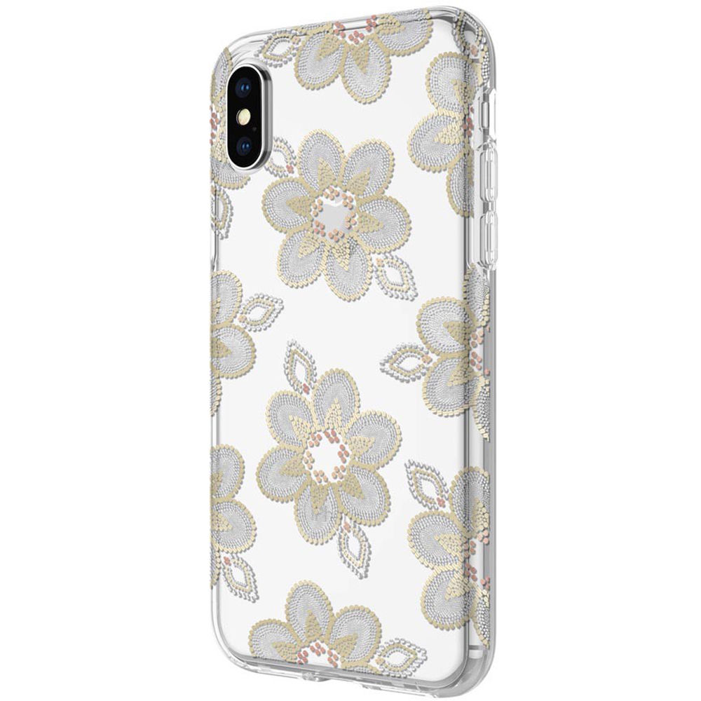 e733cf7ef29 Incipio Design Series Case for iPhone X/Xs (Beaded Floral)