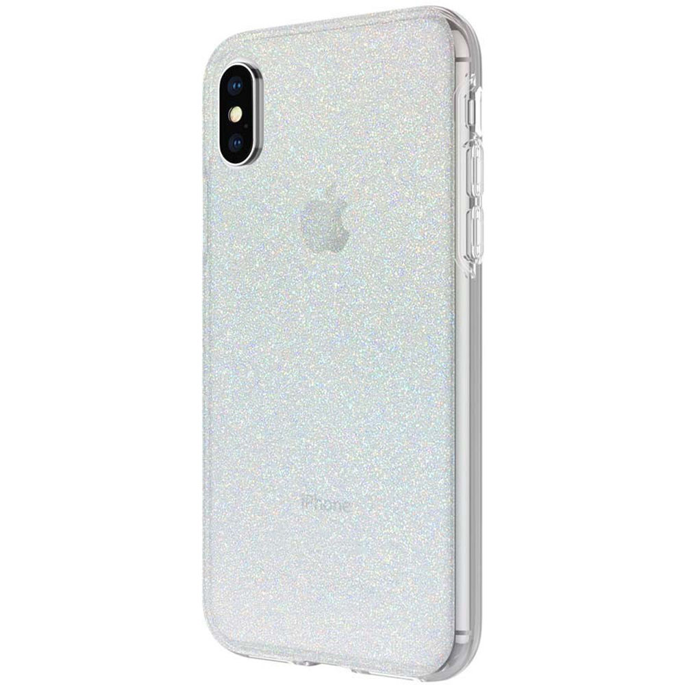 4412a2a918d Incipio Design Series Case for iPhone X/Xs (Iridescent White Glitter)