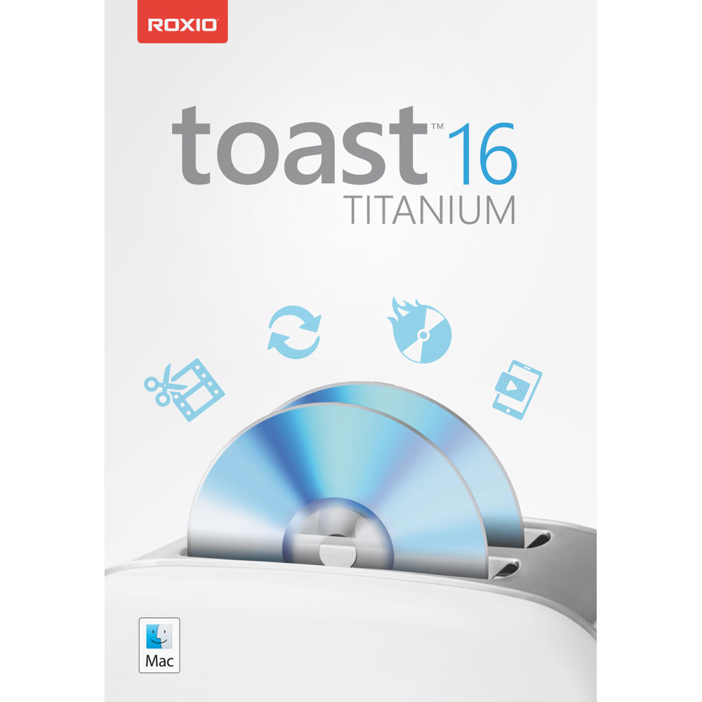 Corel Toast 16 Titanium for Mac (Download Only)