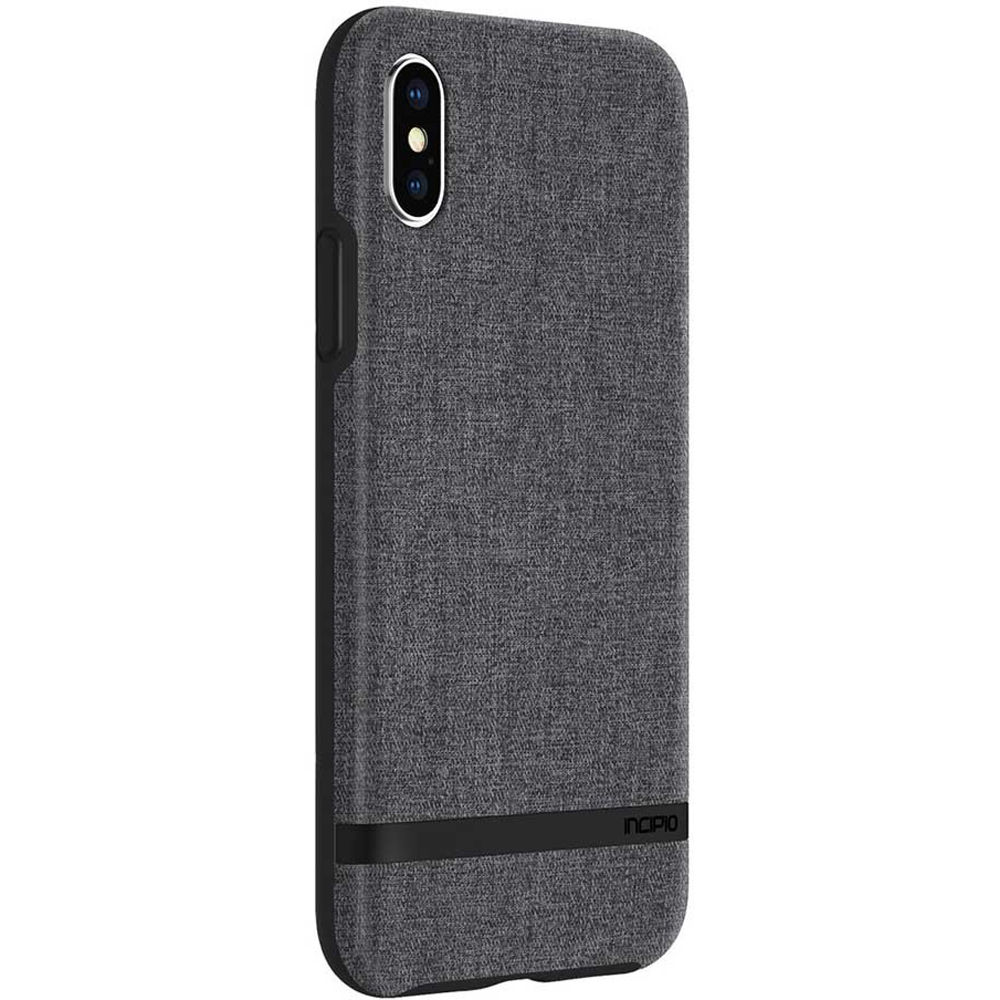 ac53cfa67cb Incipio Esquire Series Carnaby Case for iPhone X/Xs (Gray)