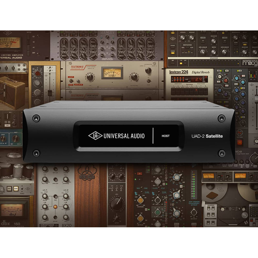 Universal Audio UAD-2 Satellite USB OCTO Ultimate 6 - DSP Accelerator with  Plug-In Bundle