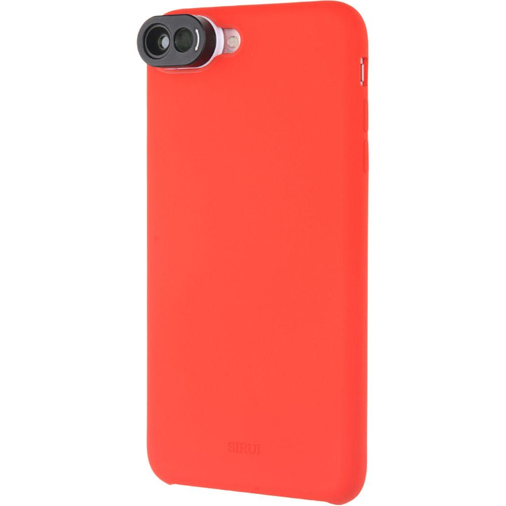 the best attitude 51b3e 2eddd Sirui Protective Case for iPhone 7 Plus (Red)