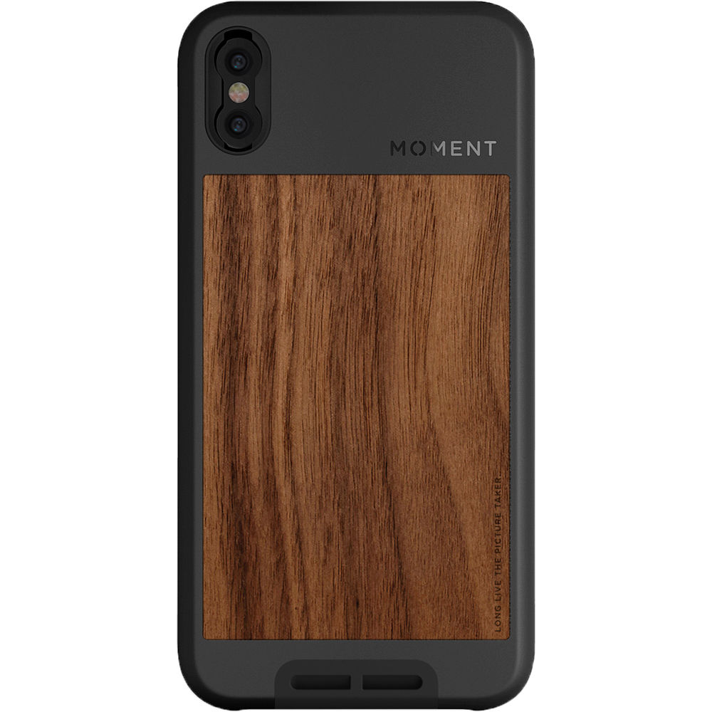 online retailer 8cf48 24cb0 Moment Photo Case for iPhone X (Walnut)