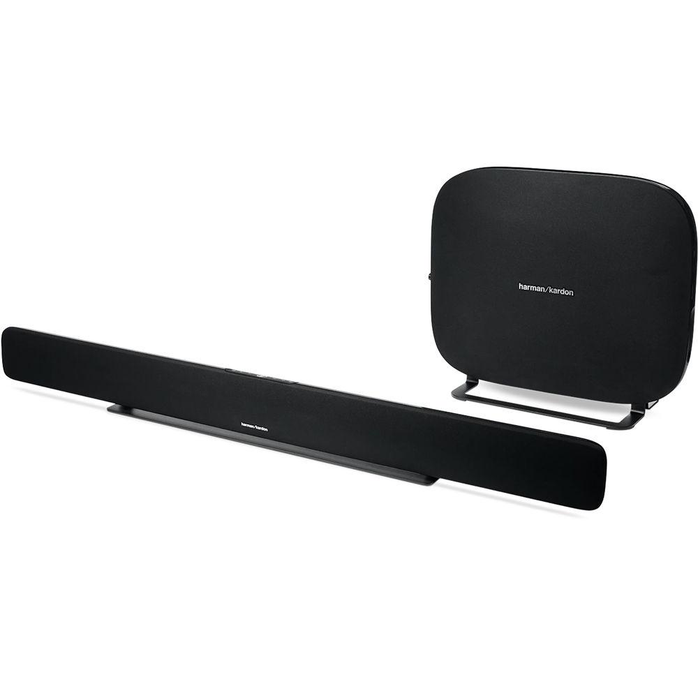 Harman Kardon Omni Bar+ 120W Virtual 5 1-Channel Soundbar System (Black)