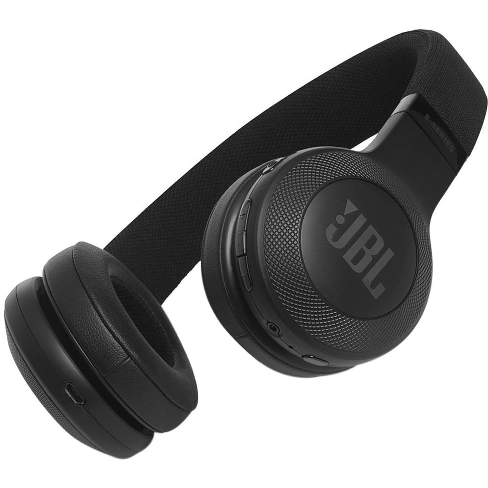JBL E45BT Bluetooth On-Ear Headphones (Black)