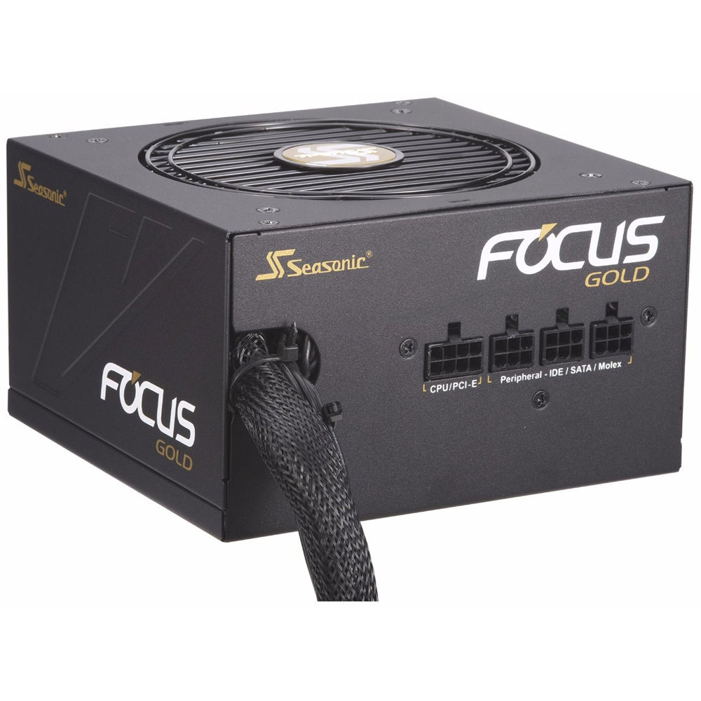 Seasonic FOCUS series SSR-450FM 450W 80 Gold Power Supply ATX12 Semi-Modular