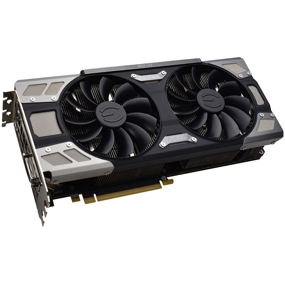 EVGA GeForce GTX 1070 Ti FTW ULTRA SILENT GAMING Graphics Card