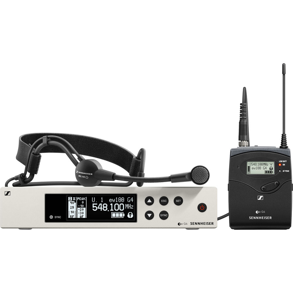 Sennheiser EW 100 G4-ME3 Wireless Headworn Microphone System