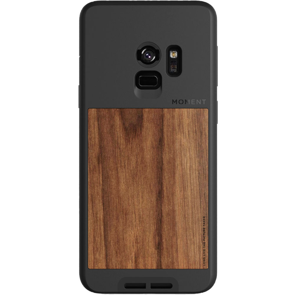 pretty nice d04cb 16dff Moment Photo Case for Samsung Galaxy S9 (Walnut)