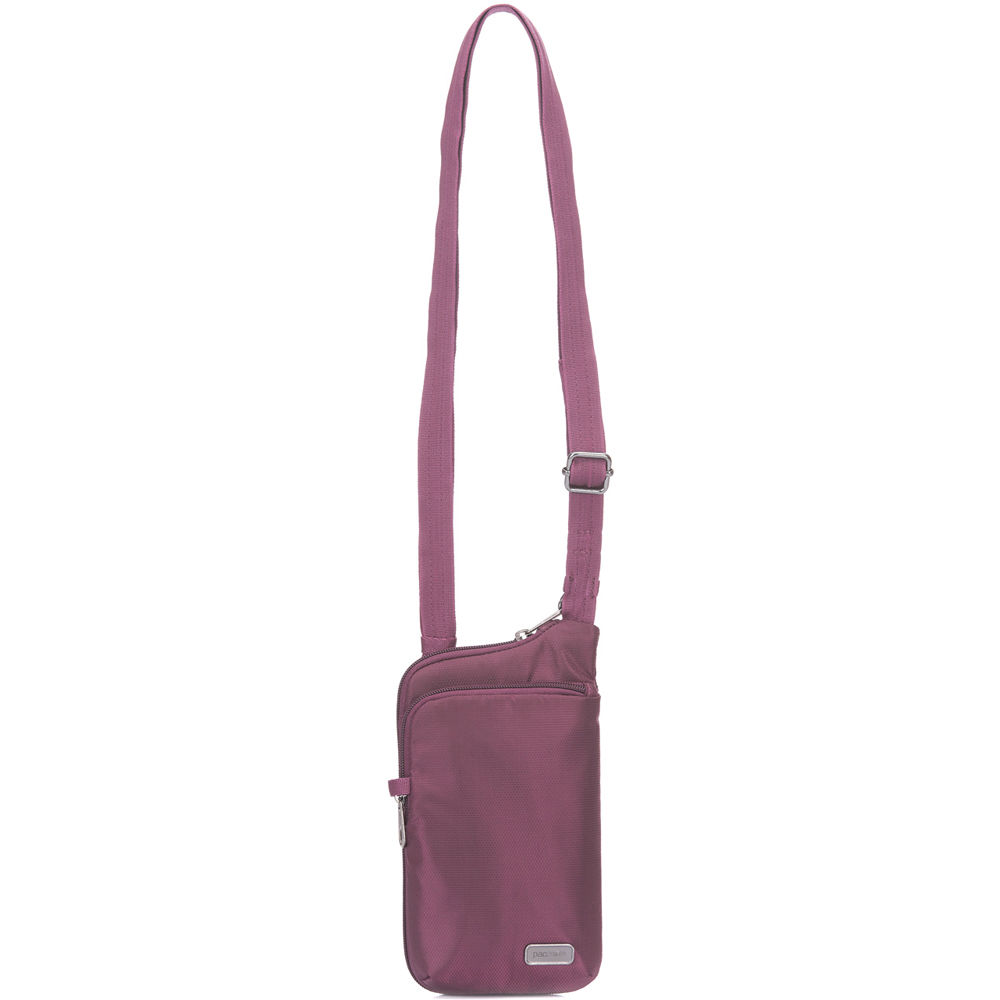 f31d1e44dbd7 Pacsafe Daysafe Anti-Theft Tech Crossbody Bag (Blackberry)