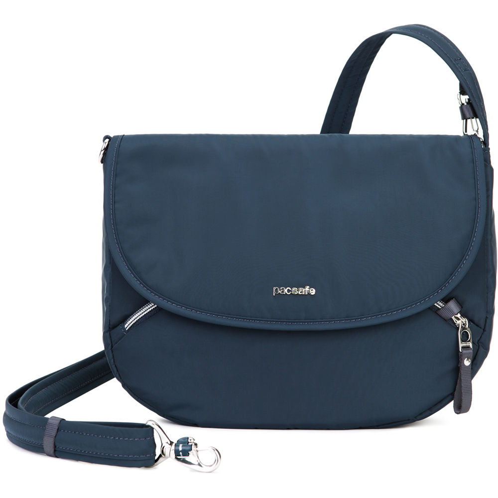 9c9e00ae8eef Pacsafe Stylesafe Anti-Theft Crossbody Bag (Navy)