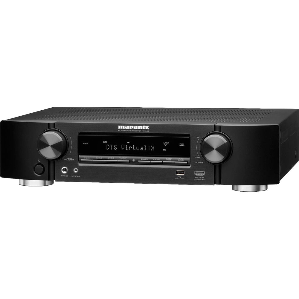 Marantz NR1609 7.2-Channel Network A/V Receiver on
