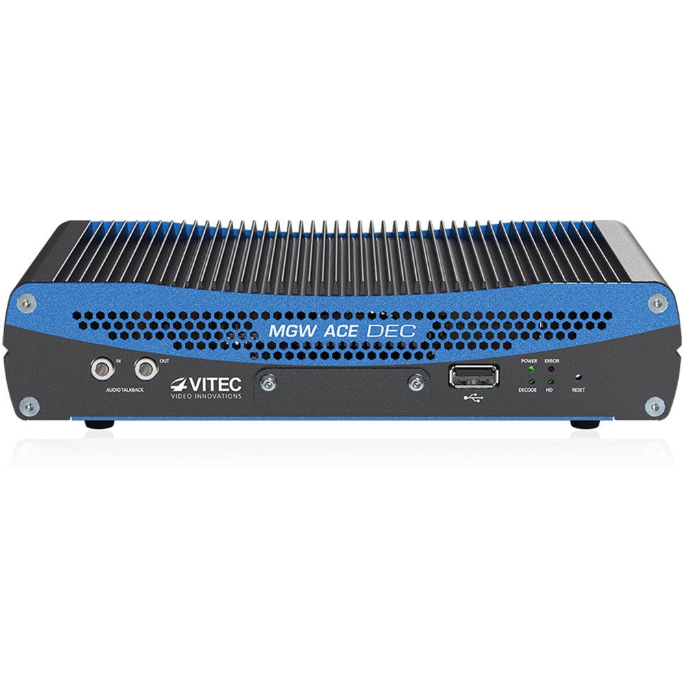 VITEC MGW Pro Portable HEVC/H 265/H 264 Ace Decoder