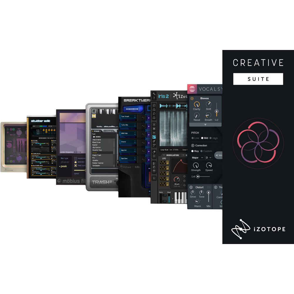 iZotope Creative Suite - 7 Software Tools for Sound 90-CRS B&H