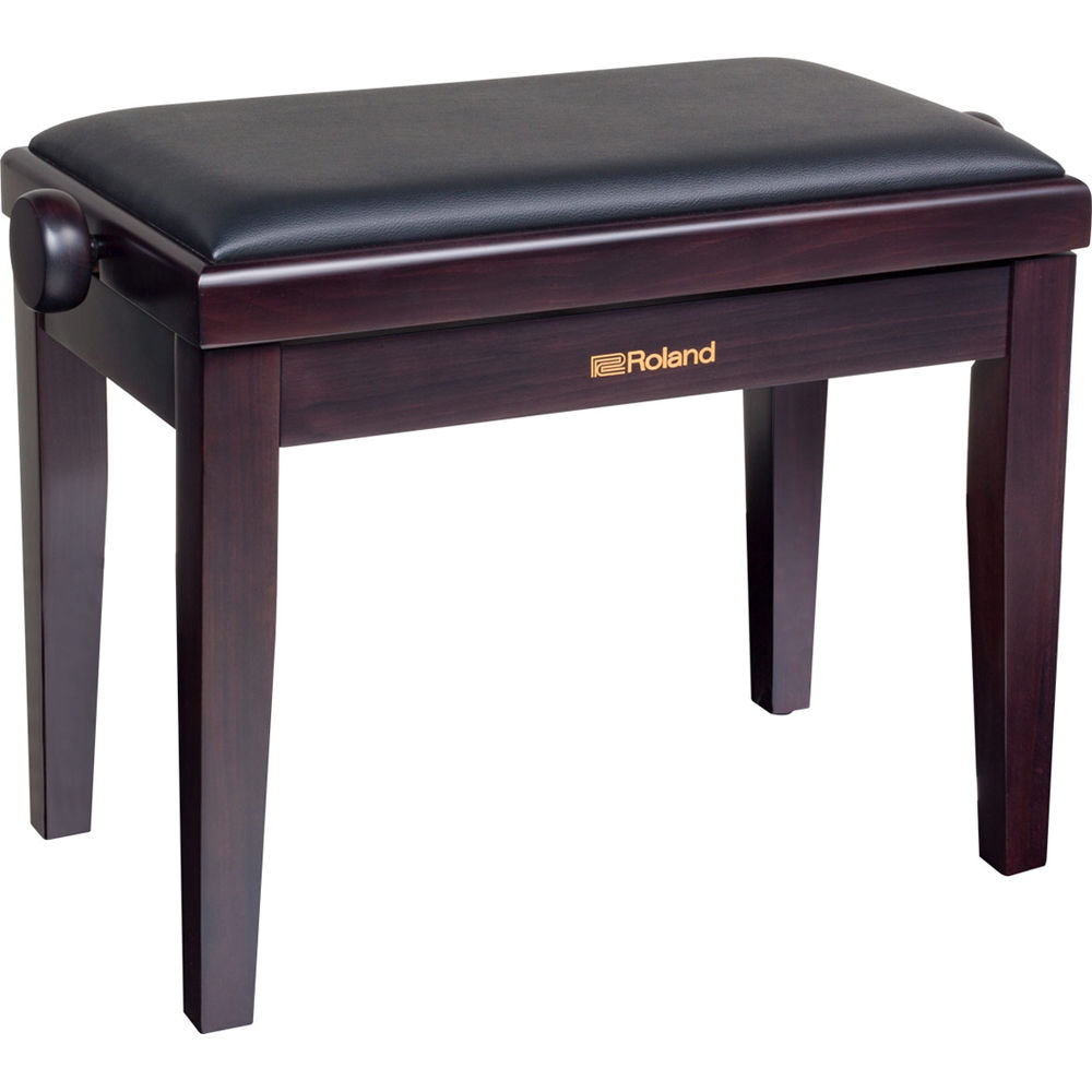 Outstanding Roland Rpb 200 Adjustable Height Piano Bench With Cushioned Seat Rosewood Theyellowbook Wood Chair Design Ideas Theyellowbookinfo