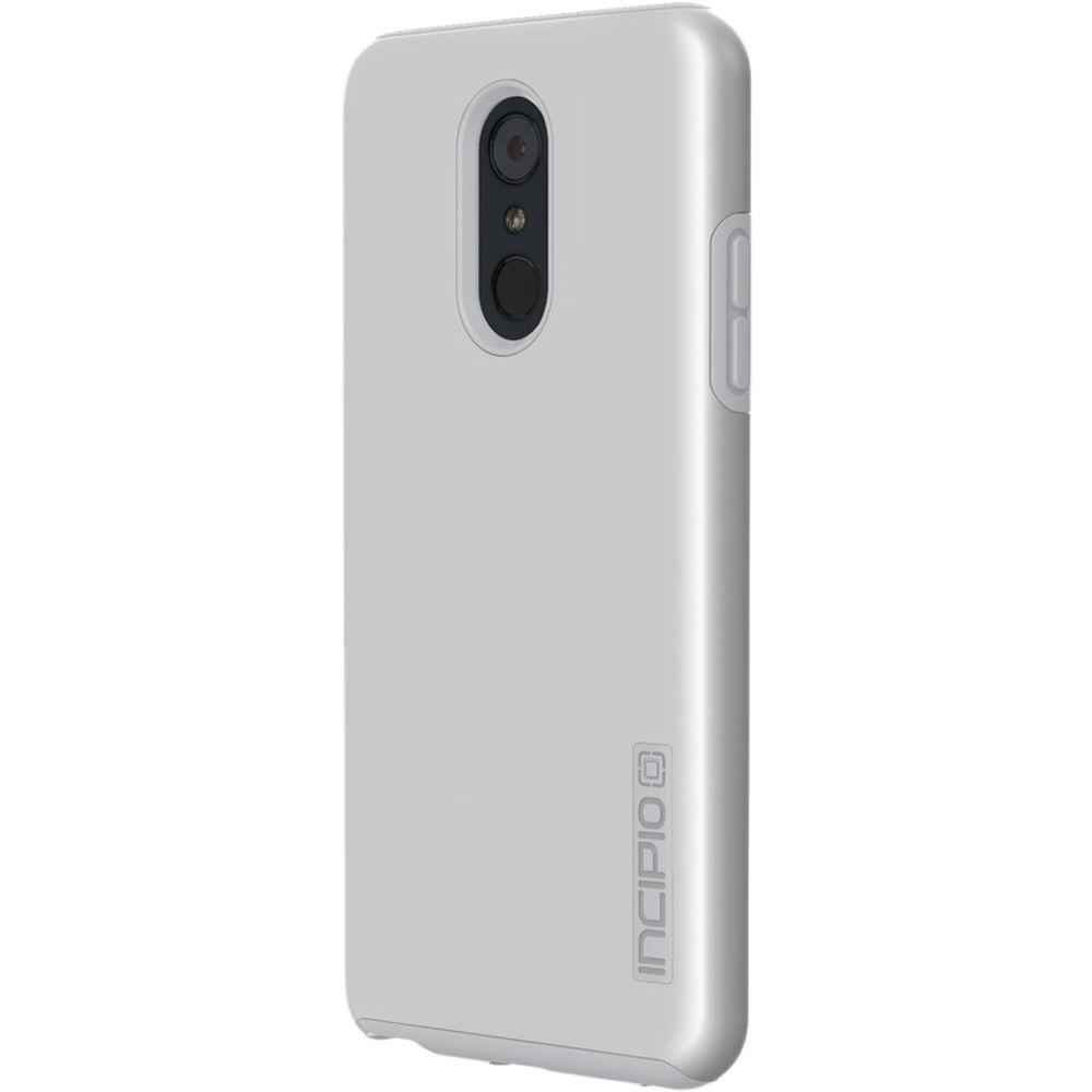 Incipio DualPro Case for LG Stylo 4 (Iridescent Gray/Gray)
