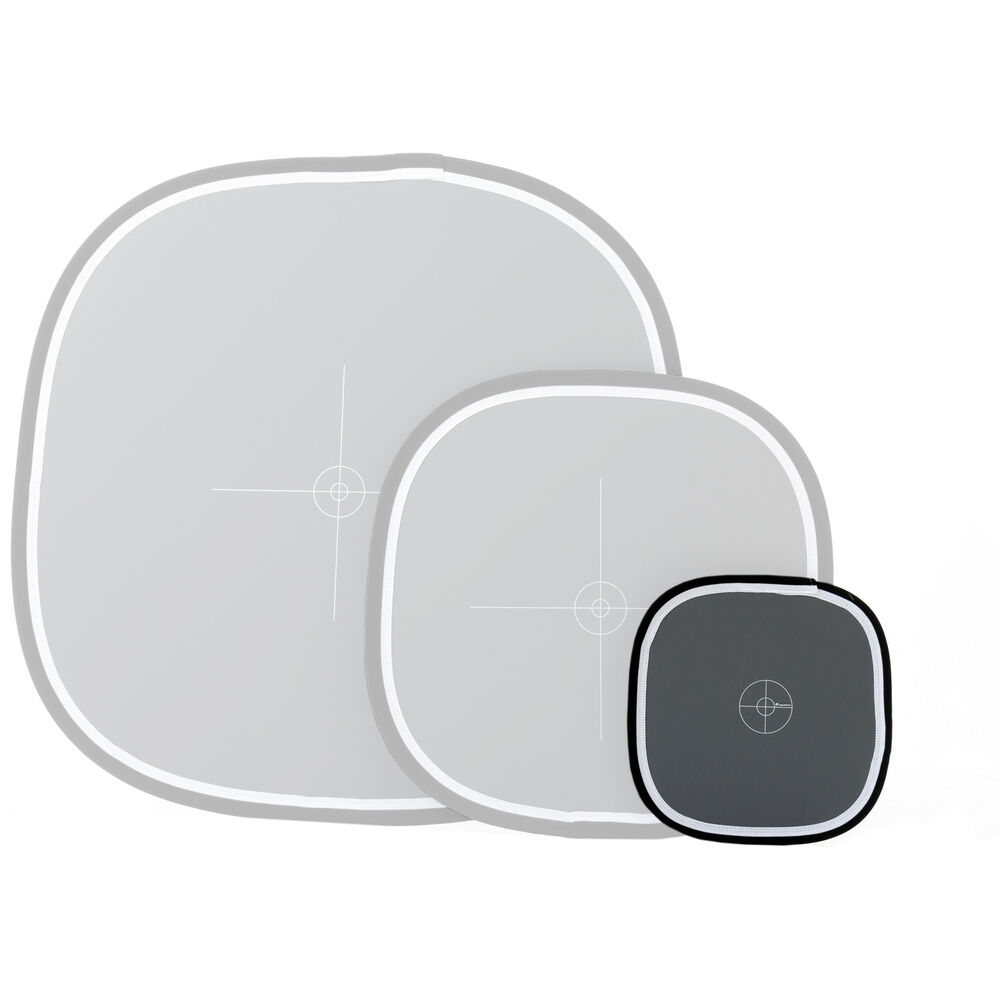 Lastolite LL LR3050 30-Inch Ezybalance Card Grey//White