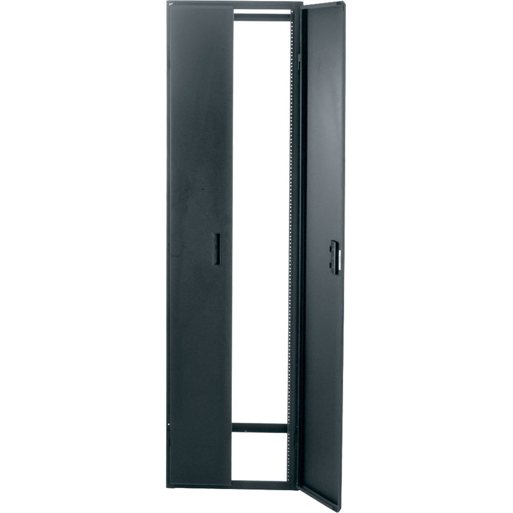 Middle Atlantic GCFRD-52 Solid Cupboard Front/Rear Door for GRK Series  Racks (52 RU, Black)