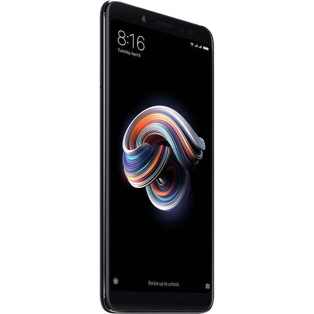Xiaomi Redmi Note 5 Dual-SIM 64GB Smartphone (Unlocked, Black)