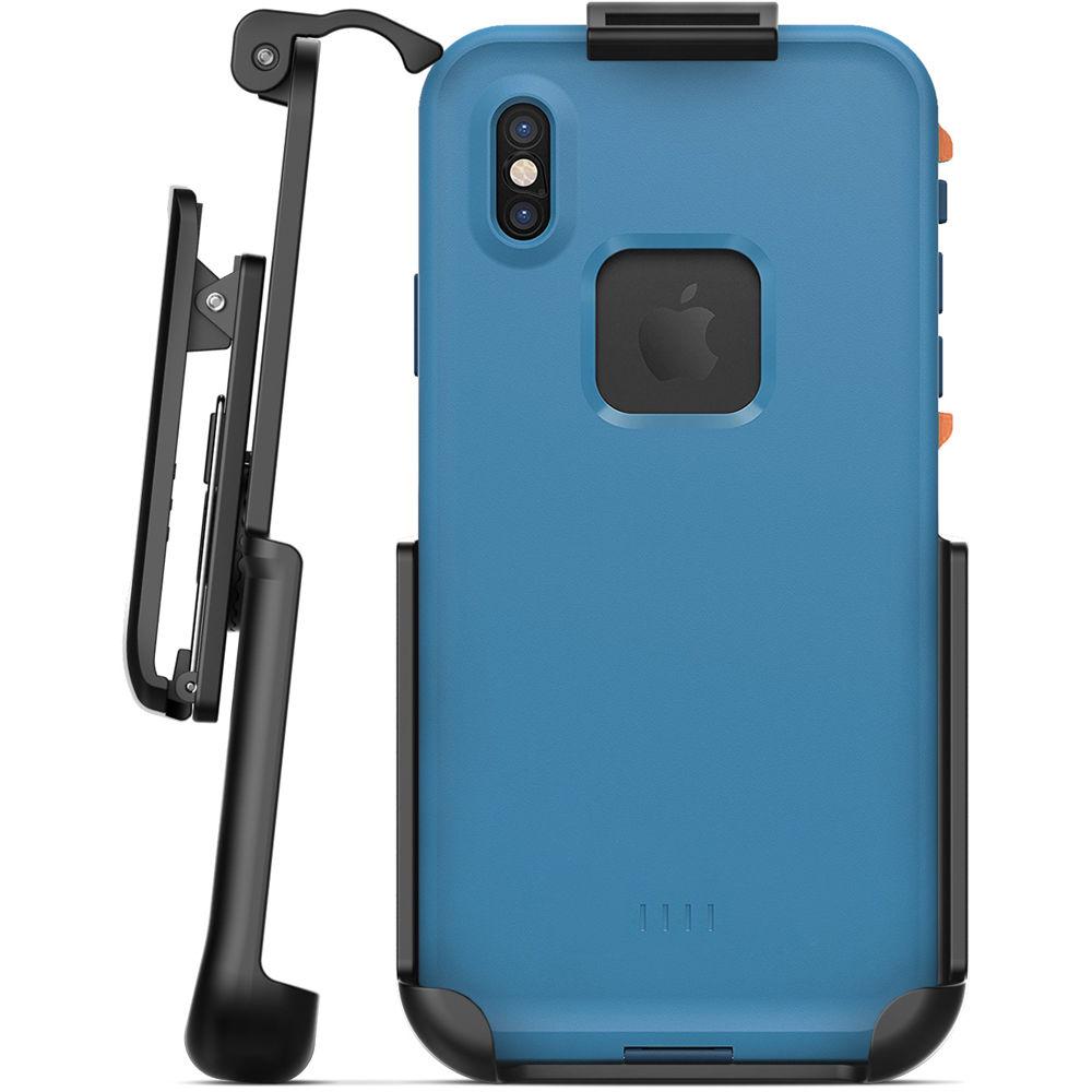 sale retailer 4d4e7 db8be Encased Belt Clip Holster for iPhone X LifeProof Fre Case
