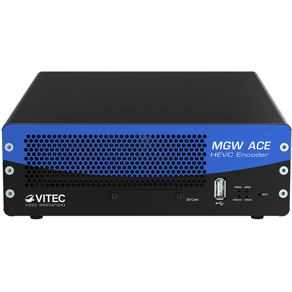 VITEC MGW ACE Compact HEVC/H 265 Hardware Encoder