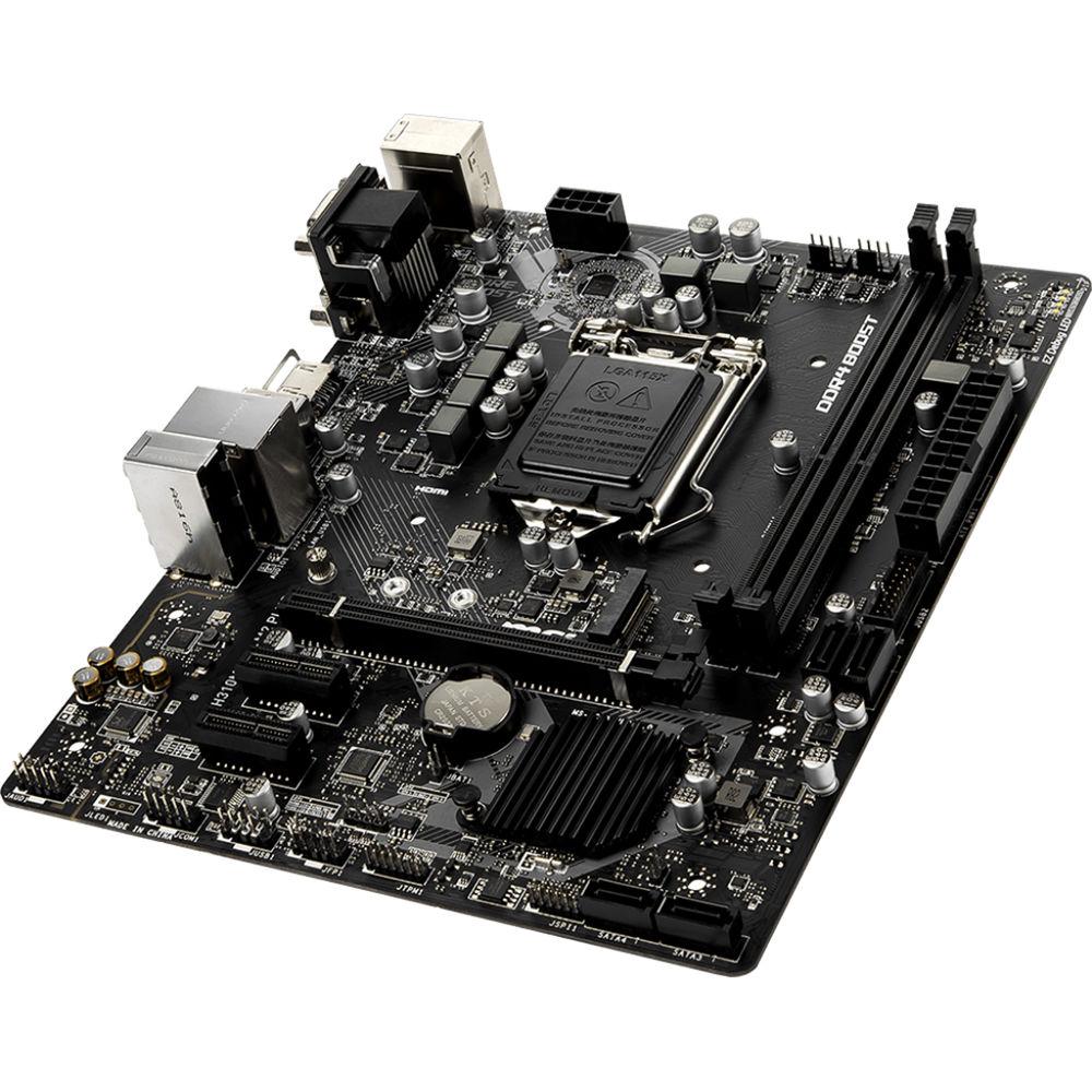 MSI H310M Pro-M2 Plus LGA 1151 Micro-ATX Motherboard