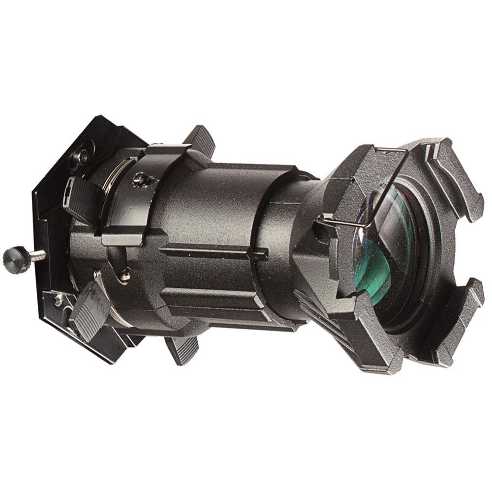 Hive Lighting Source Four Mini Leko Barrel Lens Adapter Plate For Bee 50 C Wasp 100 Hornet 200 Black
