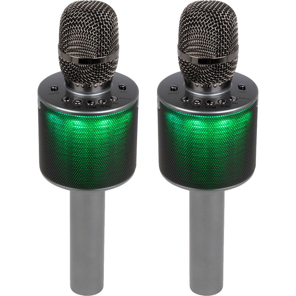 Light-Up Karaoke MICROPHONE /& SPEAKER Bluetootth