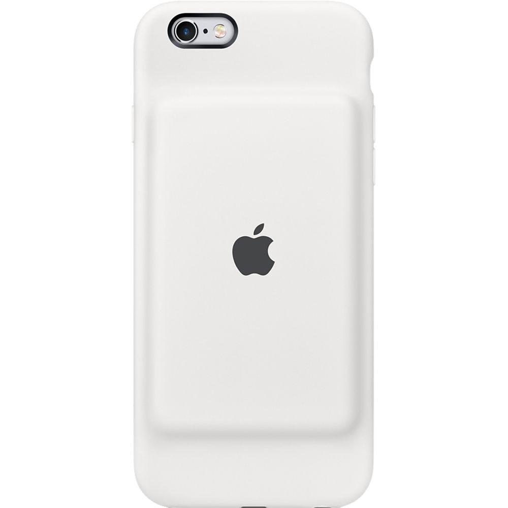 watch b3f02 b30e3 Apple iPhone 6/6s Smart Battery Case (White)