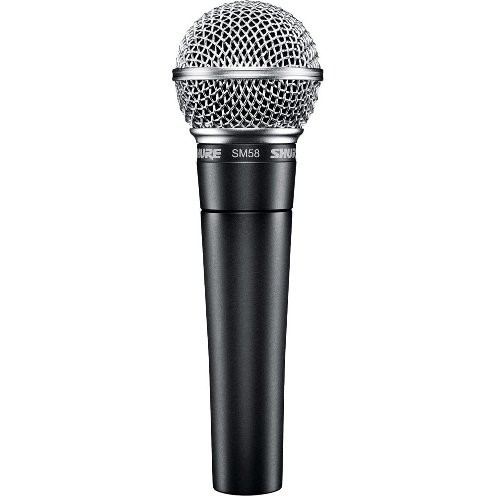 Shure SM58-LC Cardioid Dynamic Vocal Mic Microphone