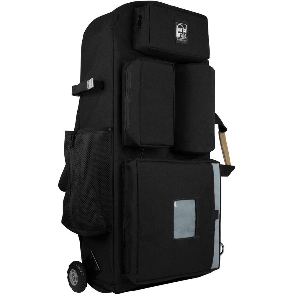 404e2426b43b Porta Brace Wheeled Hiker Backpack Case for Blackmagic URSA Mini Camera