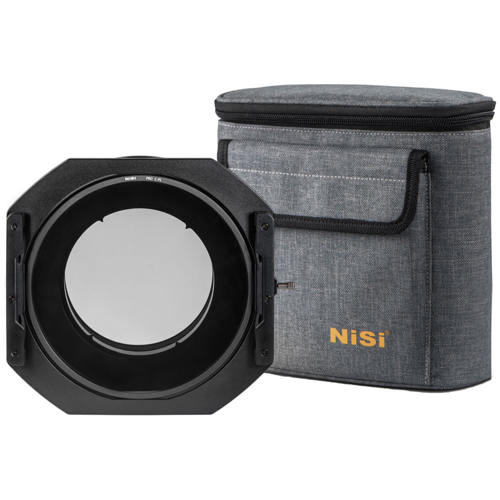NiSi NIP-FH150-S5-EN-N19 S5 150mm Filter Holder Compatible with Nikon PC 19mm F//4E ED Lens