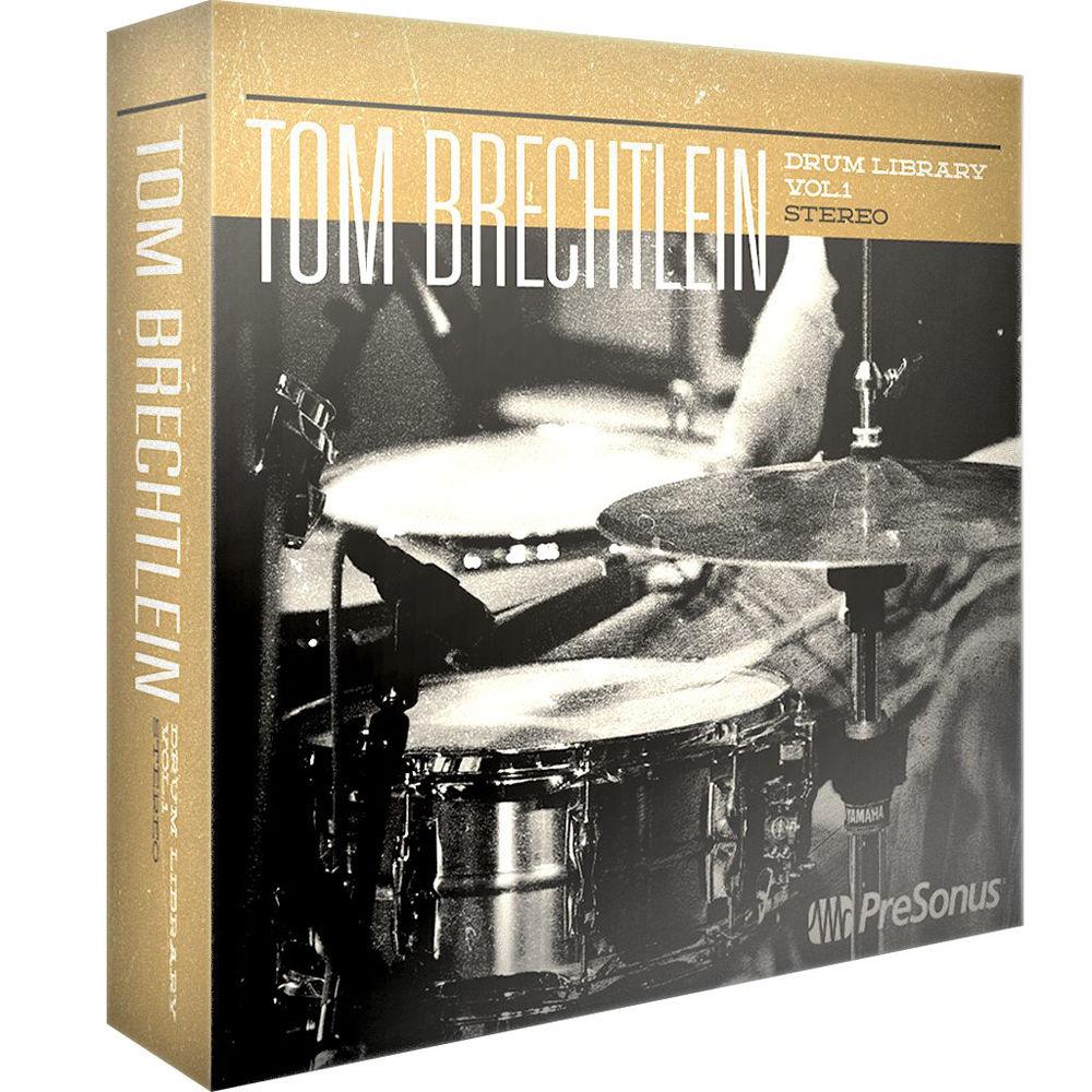 PreSonus Tom Brechtlein Drums Vol  1 - HD Stereo (Download)