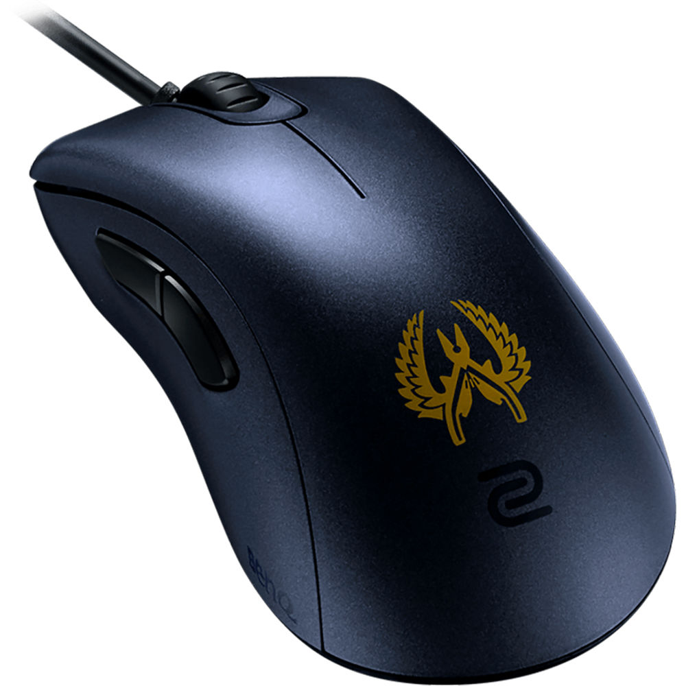 BenQ ZOWIE Mouse for e-Sports (Medium, Navy/Gold)