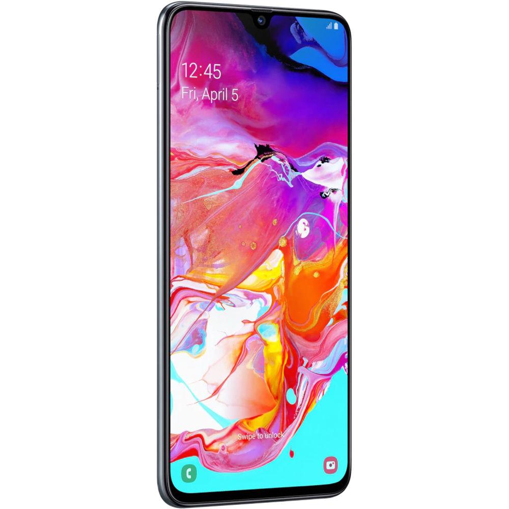 Samsung Galaxy A70 SM-A705 Dual-SIM 128GB Smartphone (Unlocked, Black)