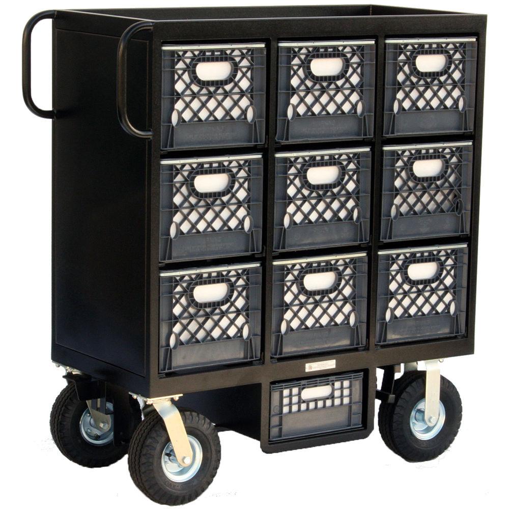 Backstage Equipment 9-Crate Set Box Mini Cart