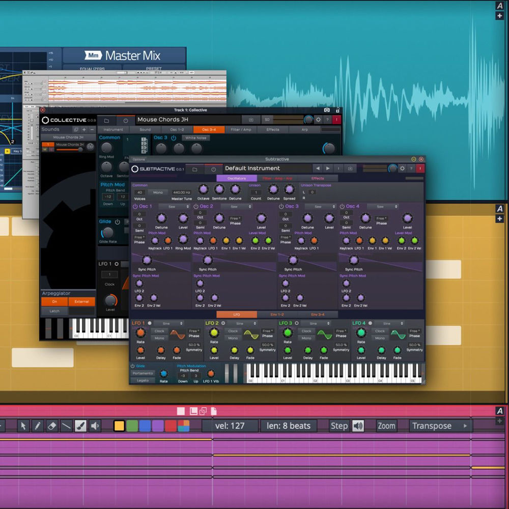 tracktion Waveform 10 Basic - Music Production Software (Download)