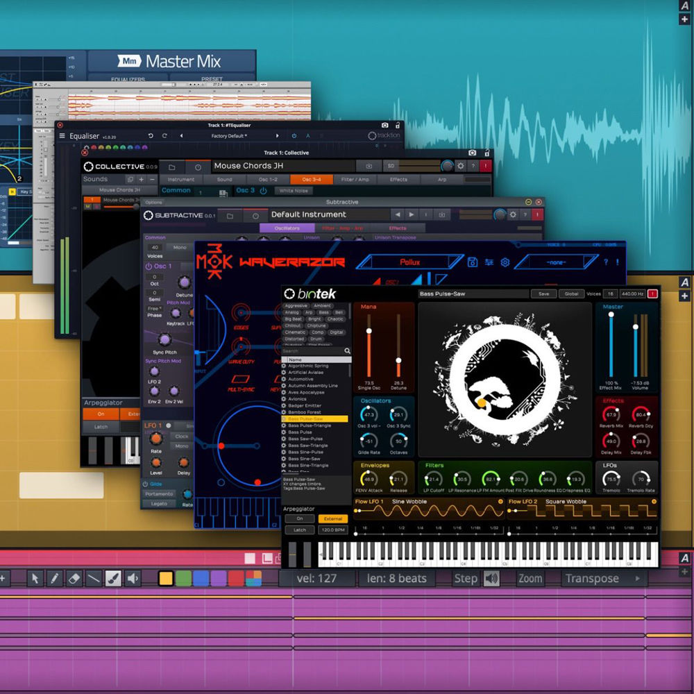 tracktion Waveform 10 Extreme - Music Production Software (Upgrade,  Download)