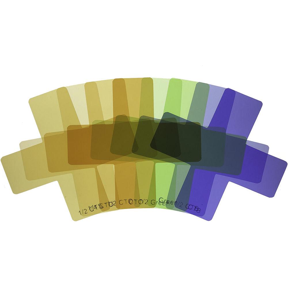 Precision Design 12 Color Gel Flash Filter Set
