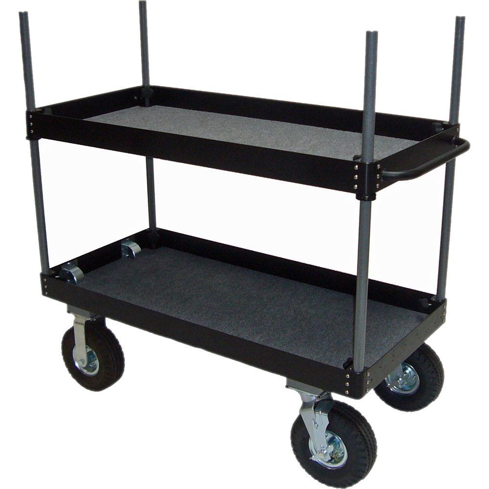 Backstage Equipment Aluminum Camera Case Cart
