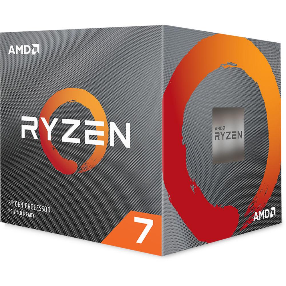 AMD Ryzen 7 3800X 3 9 GHz Eight-Core AM4 Processor