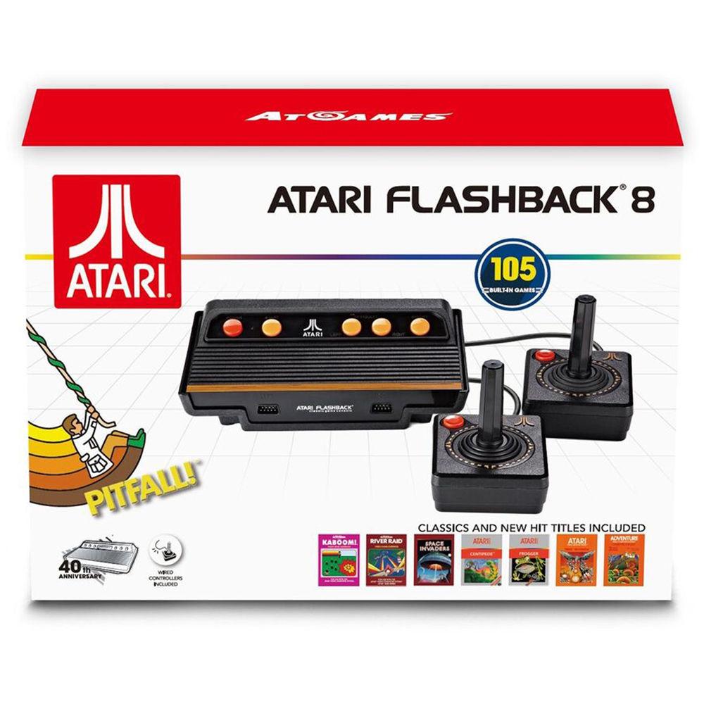 Hyperkin Atgames Atari Flashback 8 Classic Game Console