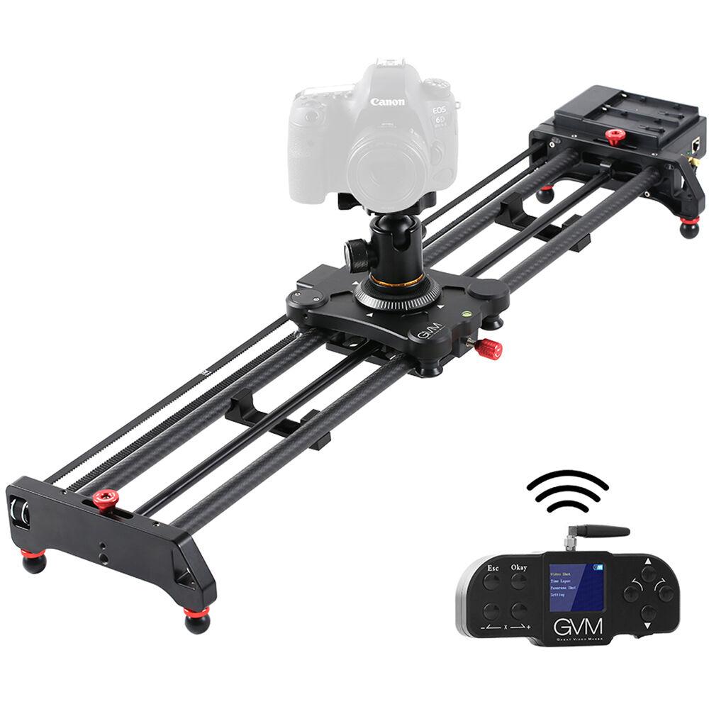 GVM Wireless Professional Video Carbon Fiber Motorized Camera Slider (48