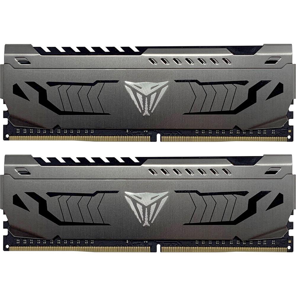 Patriot Viper Steel Series 16GB DDR4 3600 MHz CL17 UDIMM Memory Kit (2 x  8GB)