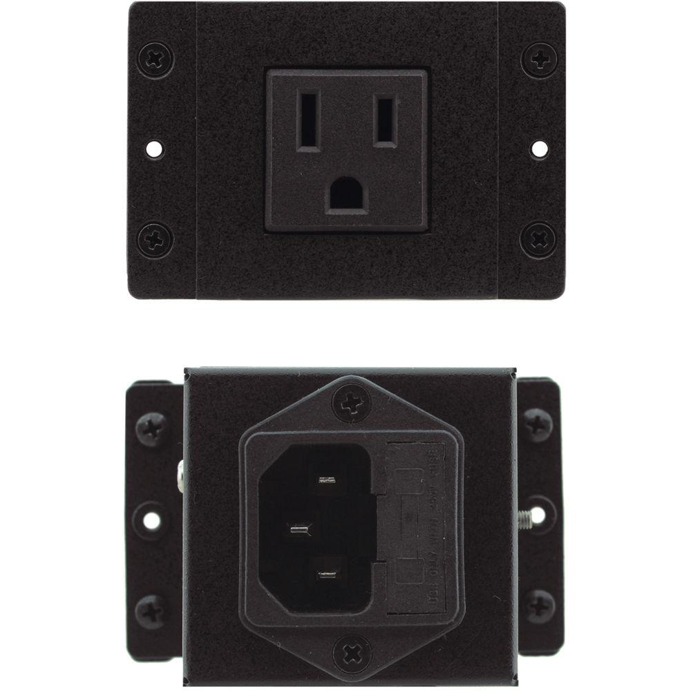 Kramer TBUS Two Charging USB Socket Black