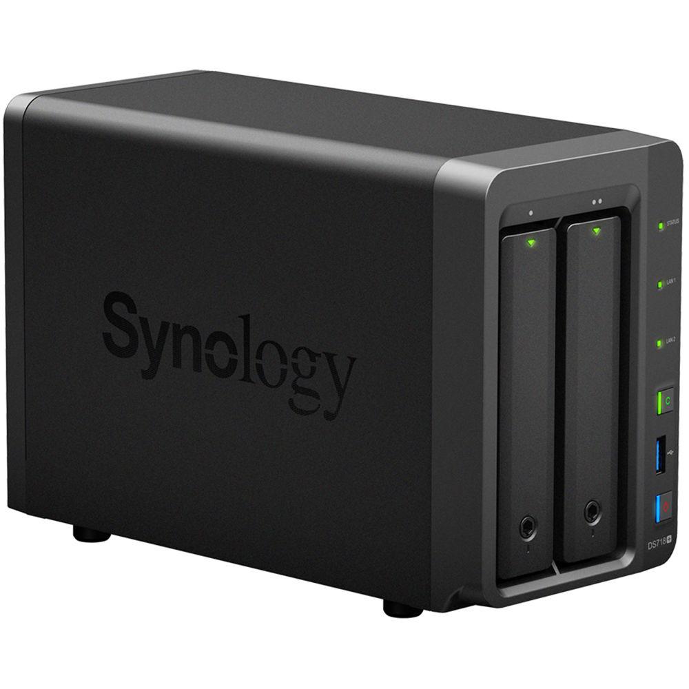 Synology DiskStation DS718+ 2-Bay NAS Enclosure