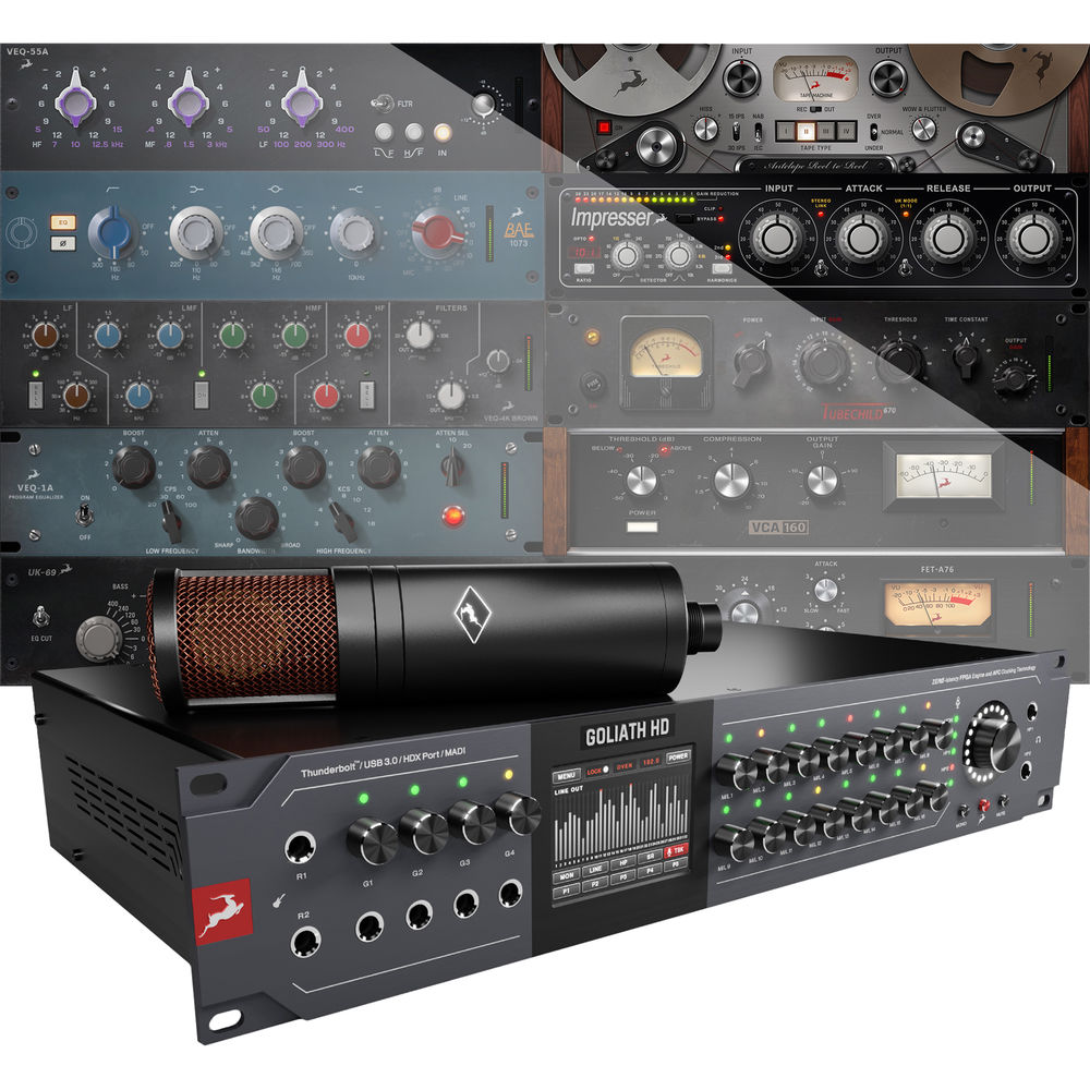 Antelope 64-Channel Thunderbolt 2 / USB 3 0 / HDX / Microphone Audio  Interface