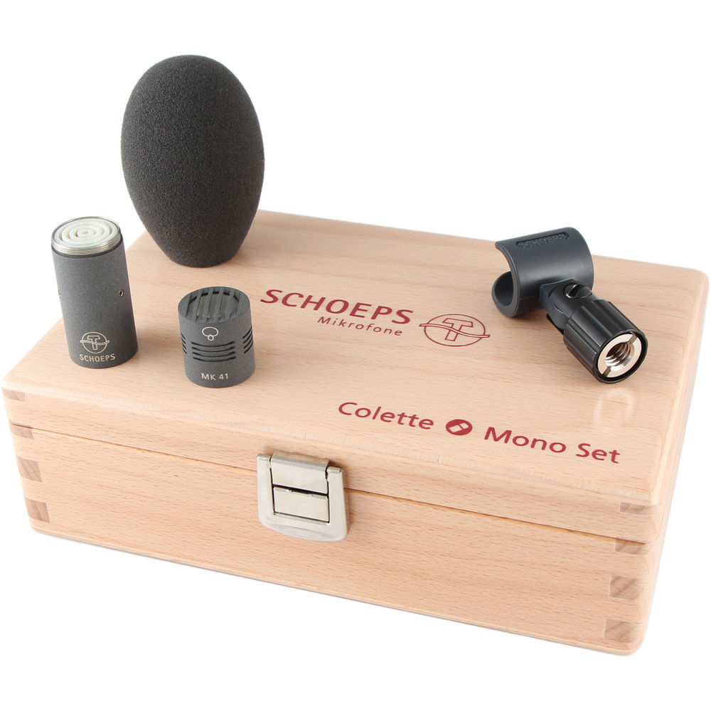 Schoeps Colette Series Supercardioid Microphone Set Gray
