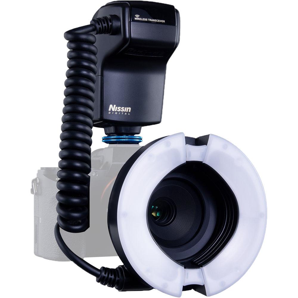 Nissin Mf18 Macro Ring Flash For Sony Ndmf18s B H Photo Video