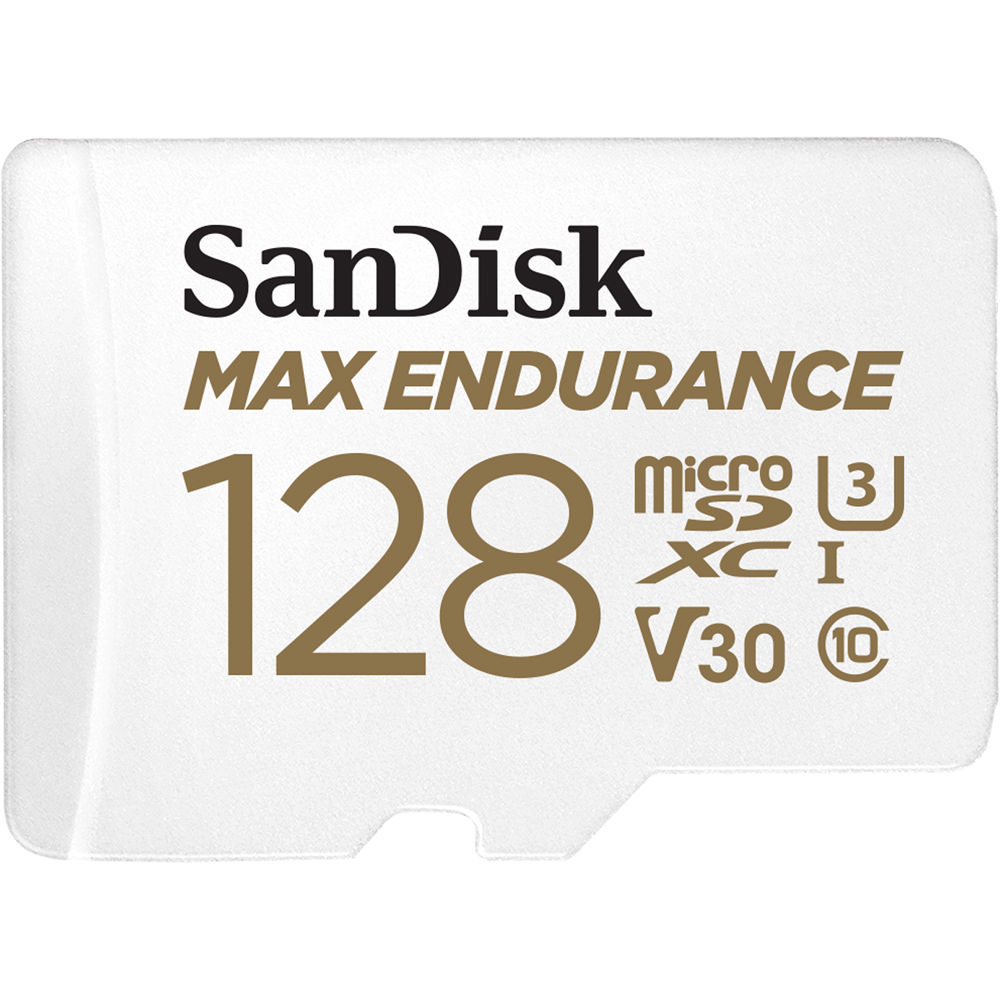 U3 SD Adapter V30 Up to 100 MB//s Read and 40 MB//s Write SanDisk High Endurance Video Monitoring Cards for Dashcams and Home Monitoring 32 GB MicroSDHC Card Class 10